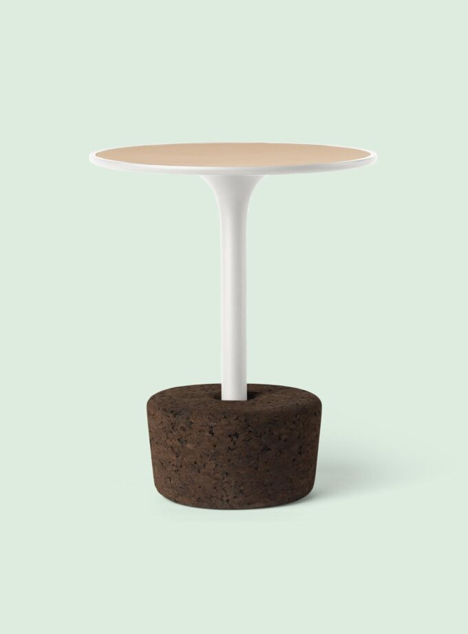 cork_side_table_Flora_small_tall_coldwhite