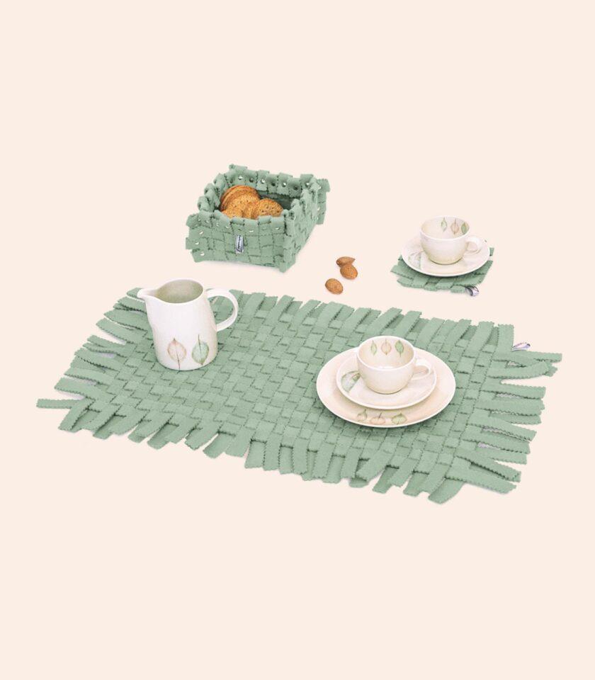 Placemates-Coasters-FeltBox-Set3-Mint-DAM-Feltrando-Portugal