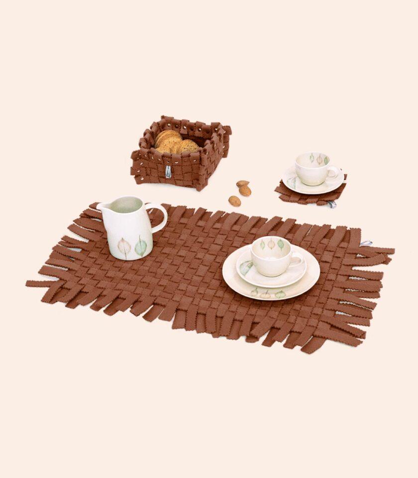 Placemates-Coasters-FeltBox-Set3-Terracota-DAM-Feltrando-Portugal